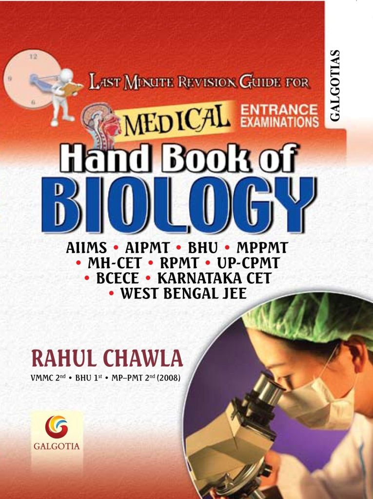 Order HANDBOOK OF BIOLOGY Online.Pay at the time of delive
